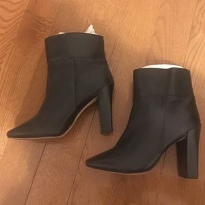 Joe Fresh genuine leather ankle boots